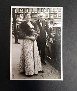 Genuine 1950's signed photograph of Titanic survivor Eva Hart..
