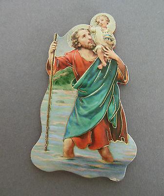 Magnet PIN Heiliger Christophorus für  Auto  Büro  Geschenk  Art. Nr.  AD-F