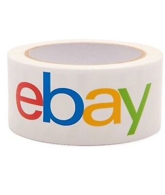 Ebay Tape Brand Packing Packaging Shipping Bopp 75 Yards 2mil Thickness 1 Roll