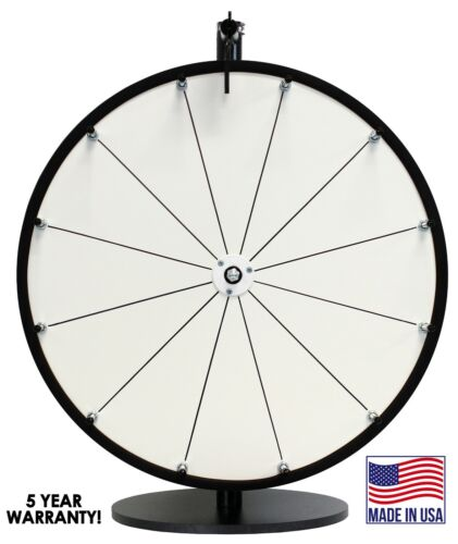 """18"""" DIY Prize Wheel-Blank surface to place your own decals!-SALE!"""