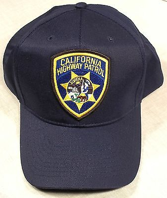 California Highway Patrol CHP CA police patch baseball hat/cap