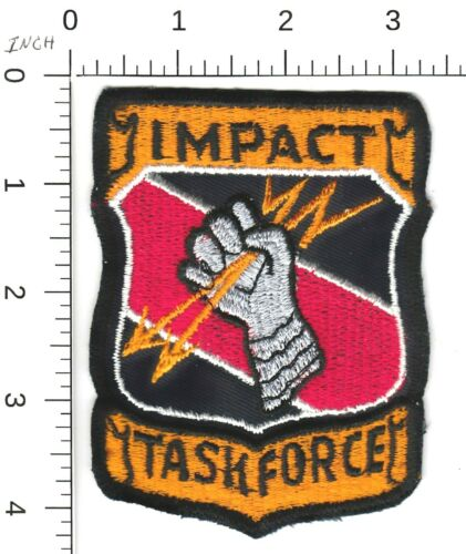 VINTAGE (1973) IMPACT TASK FORCE CLEVELAND OHIO POLICE PATCH OH (SEE DESC)