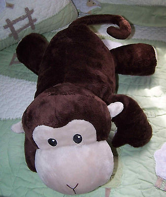 Jumping Beans Dark Brown Plush Stuffed Monkey Toy 13