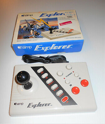 SEGA GENESIS Champ Joystick Explorer High Performance Controller New In Box!