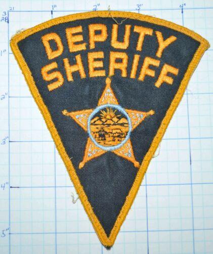 OHIO GENERIC DEPUTY SHERIFF TRIANGLE VINTAGE POLICE DEPT VERSION 4 PATCH