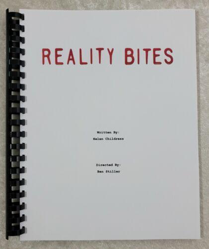 Reality Bites Movie Script Reprint Full Script 1994 Film Ben Stiller
