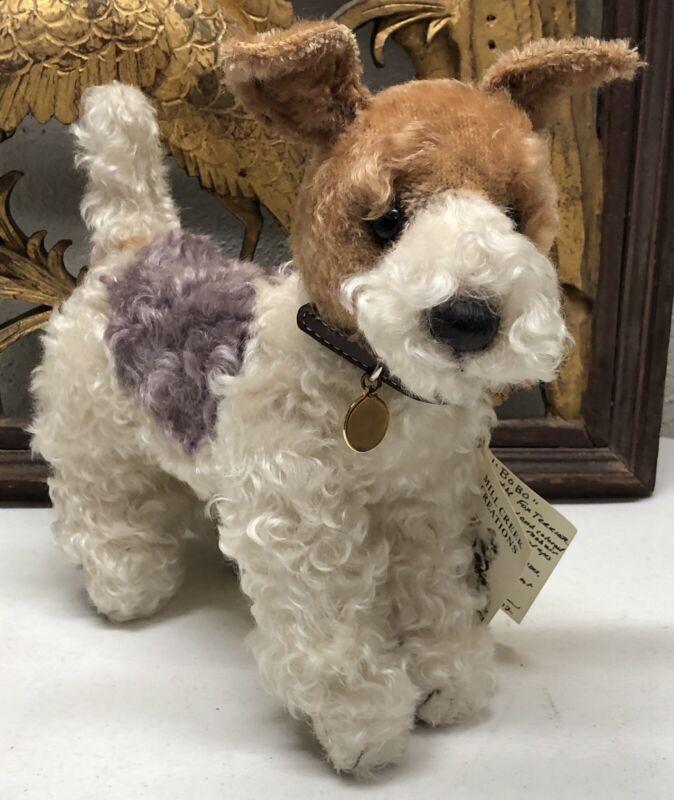 """MILL CREEK CREATIONS """"Bo Bo"""" the Fox Terrier - Designed by Rosalie Frischmann"""