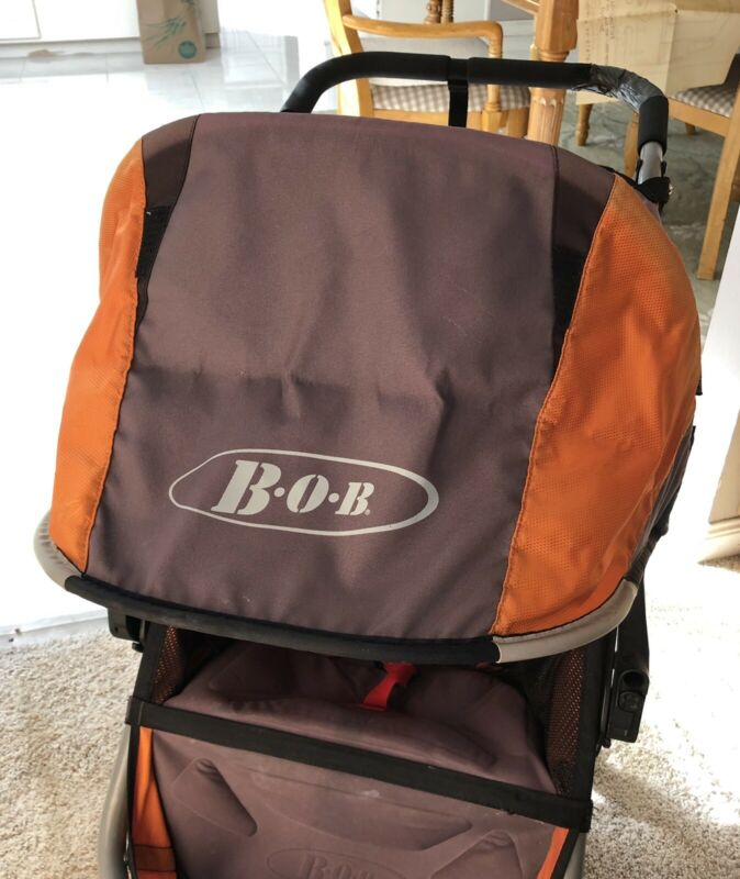 BOB Canopy, Hood, Revolution Flex/SE/CE/Strides Single Gray & Orange 2011-2015