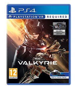 EVE Valkyrie for playstation VR