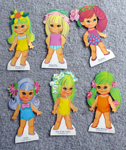 Little Kiddle ~ rare PAPERDOLLS ~ 1969 ~