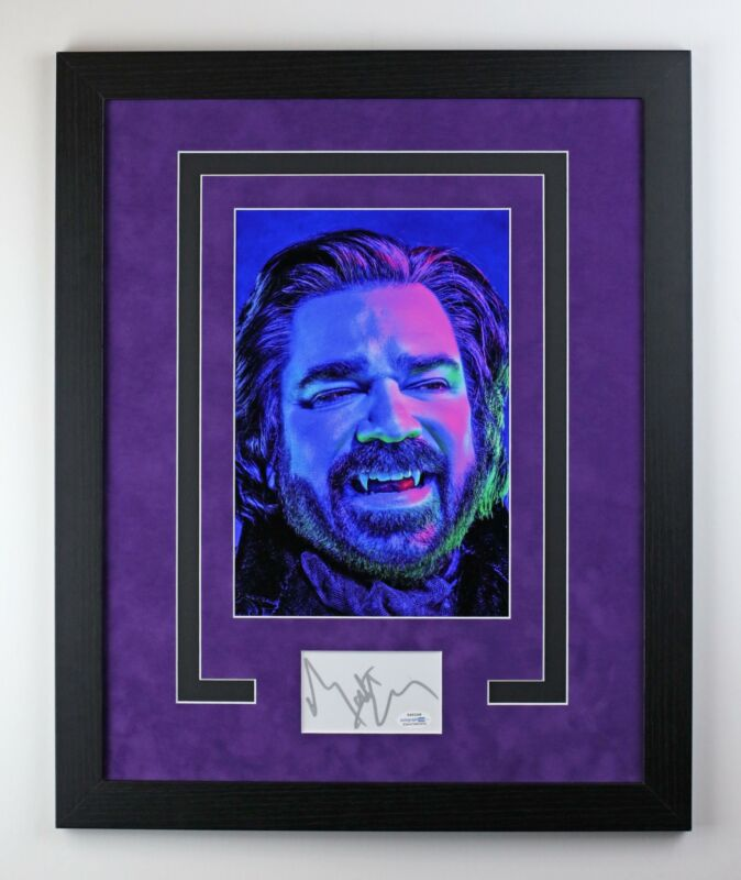 What We Do In The Shadows Laszlo Autographed Framed Photo Matt Berry ACOA