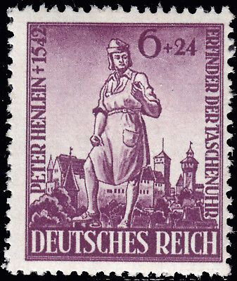Deutsches Reich 819 **  400. Todestag von Peter Henlein, postfrisch