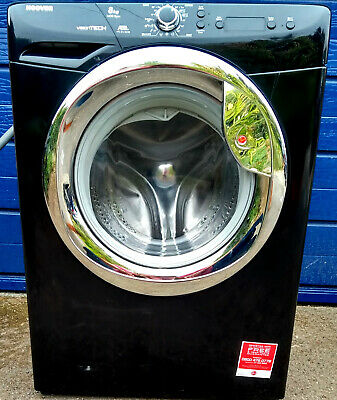 Hoover Vision Tech VTC 814 D22B 8kg Black Washing Machine A++ Energy Rating