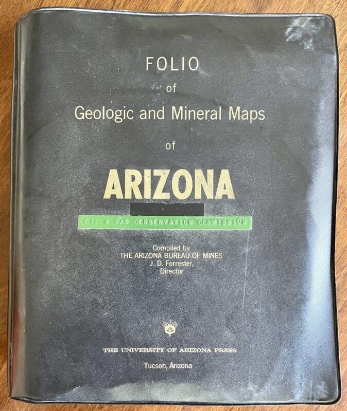 Folio of Geologic and Mineral Maps of Arizona AZ (1962) Bureau of Mines Mining