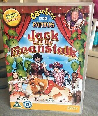 CBEEBIES JACK AND THE BEANSTALK PANTO DVD PLAYED ONCE JUSTIN FLETCHER,CHRIS JARV