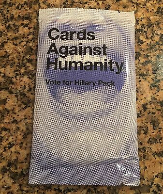 Cards Against Humanity - Vote For Hillary Pack - Expansion Sealed New Clinton