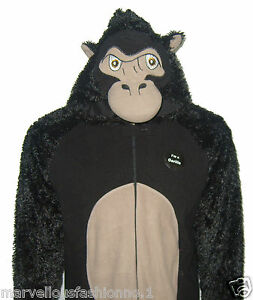 Mens Ladies Womens Animal Onesie Sleepsuit Pyjamas Babygrow All in one Primark
