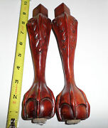 Carved Chair Legs