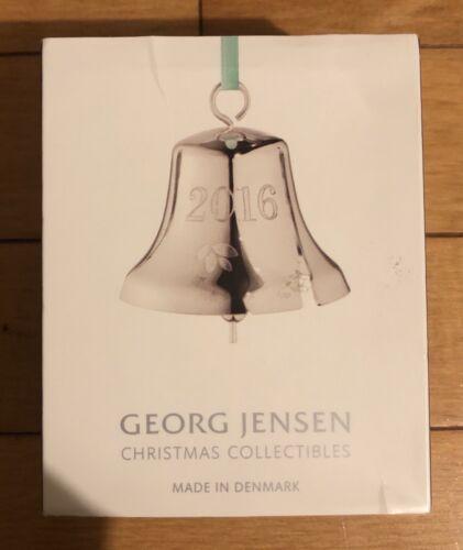 Georg Jensen 2016 Christmas Bell Ornament