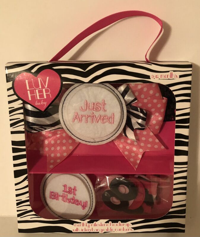 Luv Her Baby Pink & Black Gift Set baby