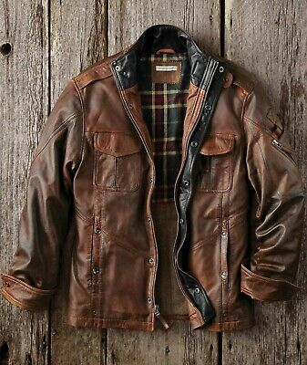 Carbon 2 Cobalt Bend In The Road Leather Jacket Mens S-XXL Sizes NEW