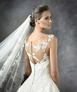 """Pronovias """"Presen"""" Wedding Dress, Size X, RRP$3000 in ivory/oyste Chittaway Bay Wyong Area Preview"""