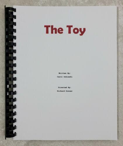 The Toy Movie Script Reprint Full Script Screenplay 1982 Film Richard Pryor