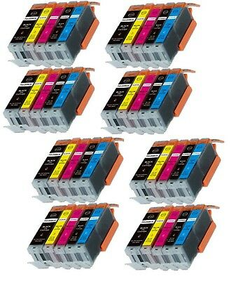 40-Pack/Pk Ink Combo for Canon PGI-250 CLI-251 Pixma iX6820 MX922 MG5620 MG6620