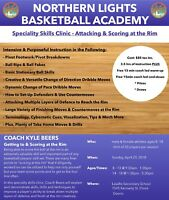 Northern Lights Basketball Academy Skills Clinic