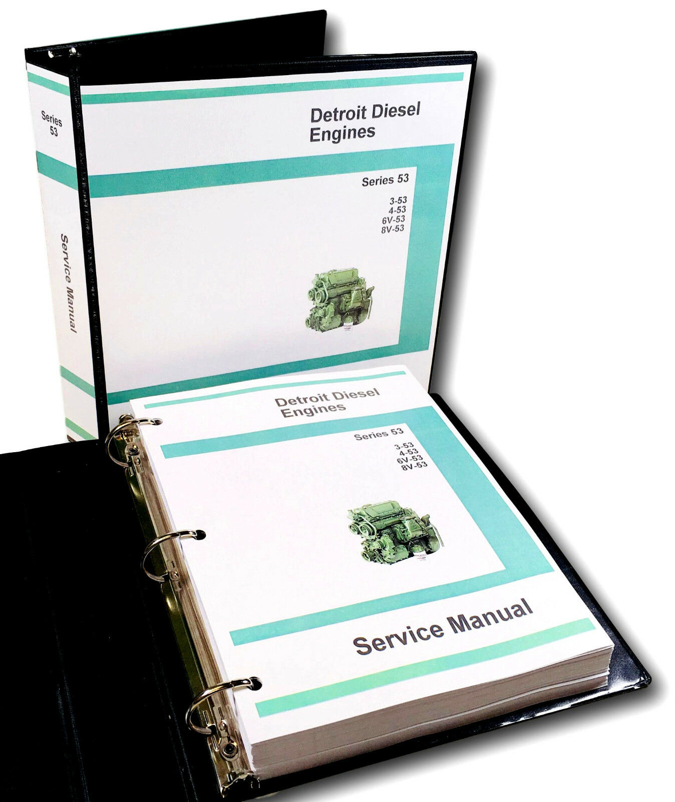 453 Detroit Diesel Manual Series 53 Engine Wiring Oliver 1900 1950 Tractor 4 Service Rh Ebay Com Allison Specifications
