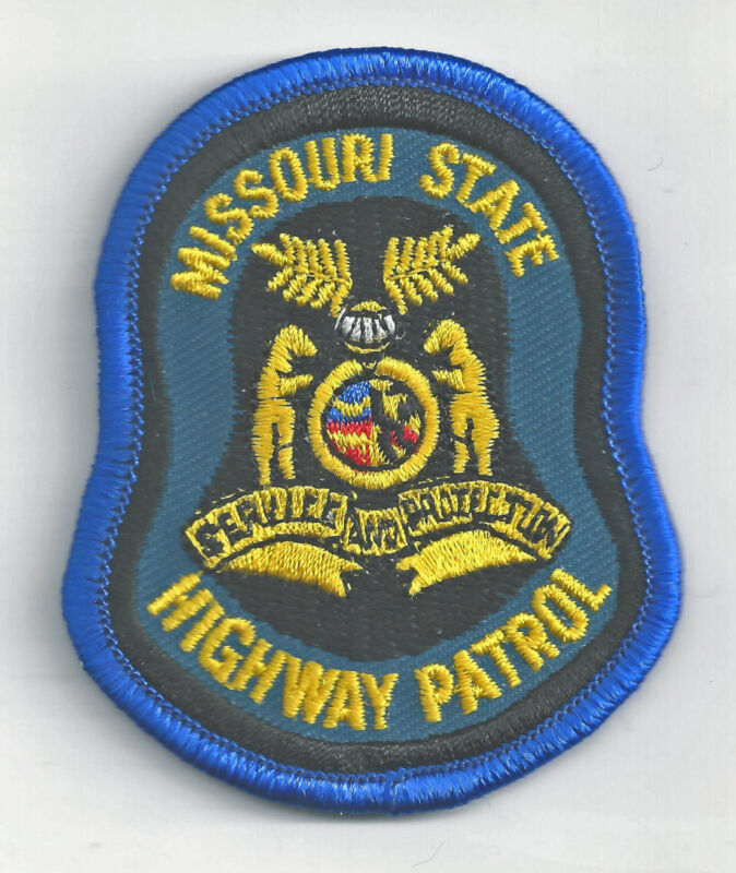 MISSOURI STATE HIGHWAY PATROL - SMALL SHOULDER PATCH - IRON OR SEW-ON PATCH