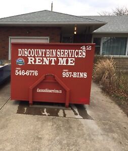 Bin Rental Special $99.00 / Dumpster / Waste Container