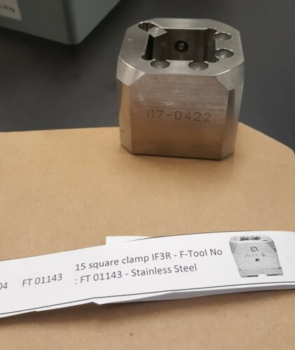 FTool (a subsidiary of Erowa) FT01143 15 Square Clamp