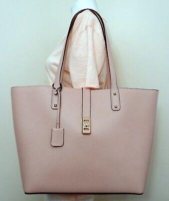 Michael Kors Karson Ballet Pebbled Leather Large Carryall Tote Bag