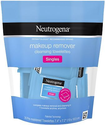 Neutrogena Makeup Remover Cleansing Towelettes, Individually