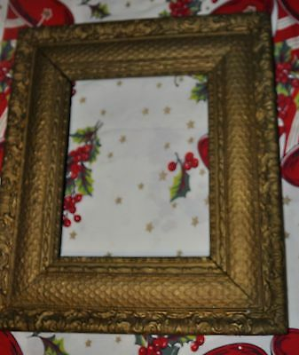"""Beautiful Antique Wooden Picture Frame 16"""" x 14 1/2"""" x 3/4"""" Deep"""