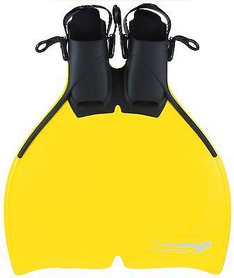 Monoflosse Triton Gelb Für Kinder Und Die Meerjungfrau