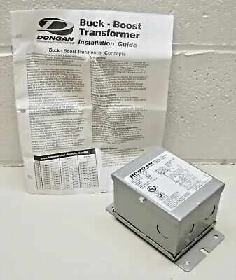 Dongan Transformer 35-y005 Single-phase Buck Boost General Purpose - See Specs