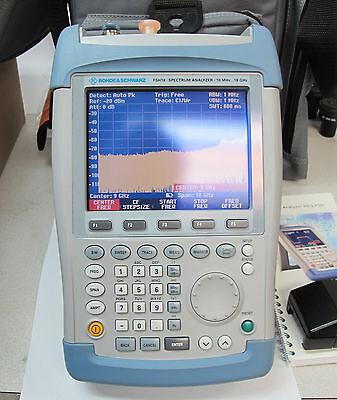Rohde & Schwarz Handheld Spectrum Analyzer FSH-18 18GHz