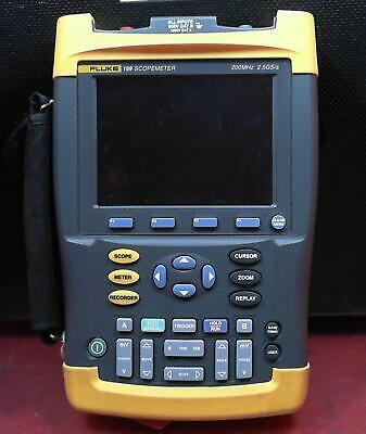 Fluke 199 Scopemeter 2.5gss Dual-input 200mhz Oscilloscope Dm7900413 Parts