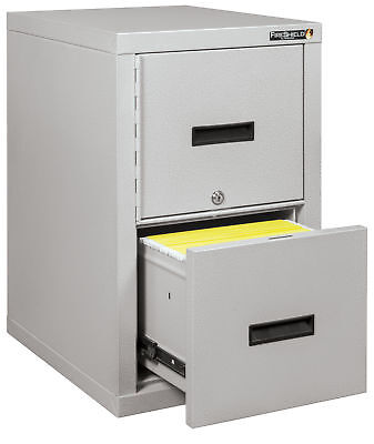 Fire Resistant File Cabinet - Light Weight Fire Rated One File Drawer Saf...