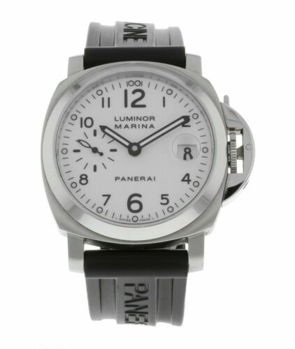 Panerai Luminor Marina 40mm Men's Rubber Strap Automatic Watch Pam049