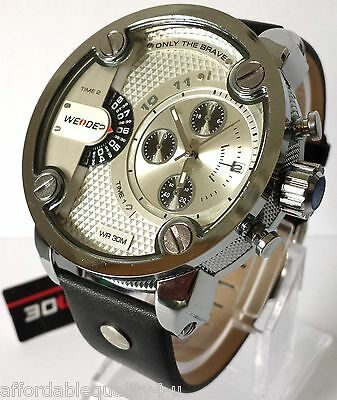 """diesel keyring +Weide """"Little Daddy"""" Only The Brave"""" Mens Watch,BOXED! Stunning!"""