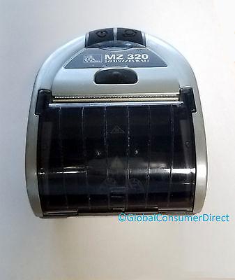 "Zebra MZ 320 MZ320 Portable Mobile Thermal BLUETOOTH Wireless USB 3"" Printer"