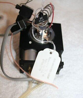 Rheodyne 7716-013 6 Port Injector Valve W 80l Sample Loop 2 Of Opb9505-2