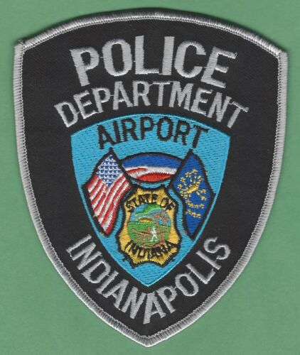 INDIANAPOLIS INTERNATIONAL AIRPORT POLICE SHOULDER PATCH