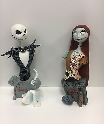 2002 NECA NIGHTMARE BEFORE CHRISTMAS JACK AND SALLY LIMITED FIGURES  #sjan19-705