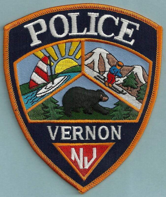 VERNON NEW JERSEY POLICE PATCH VERY NICE!