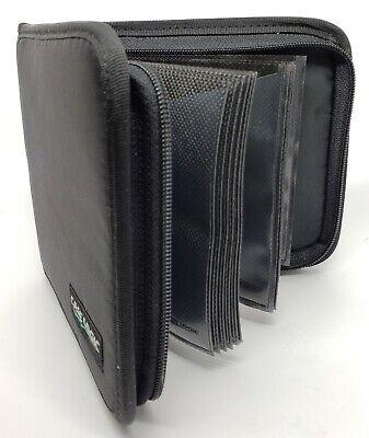 Case Logic CD Wallet 🔥 24 Disc Capacity ✓ USA Stock Free Shipping ⭐️Model 3⭐️ 24 Disc Cd Wallet