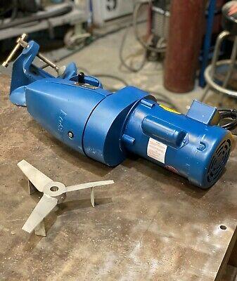 New Cleveland Eastern Agitator Portable Gear Driven Clamp Mixer Model Rg-1